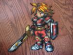 Final Fantasy Clock: Red Warrior by Dunhour