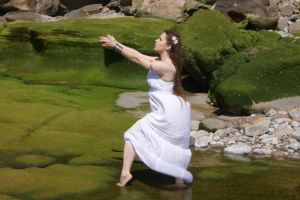 Lady in the Water 11 by Obliviate-Stock