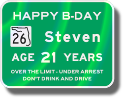Steven's 21st B-day Card-Sign by vidthekid