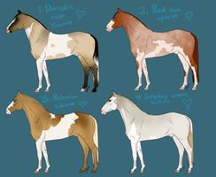 Horse point adopts by HarmaaTabby