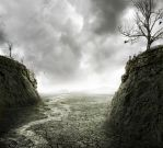 Approaching Storm After Drought by PSHoudini