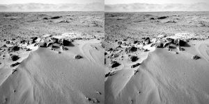 Mars Stereoscopic Landscape by cow41087