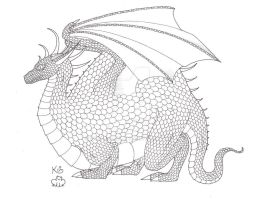 1st of the Fat Dragons Ink by Scellanis