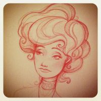 Gibson girl by Fli-nn
