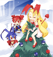 Disgaea: Christmas Angel by Suguri