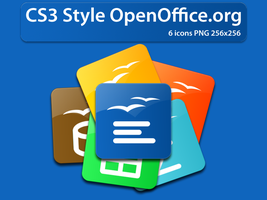 OpenOffice.org CS3 Style Icons by andrei-t