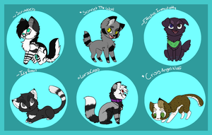 .:: chibi request batch ::. by x-AL3X