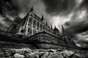 ghost palace II by arbebuk