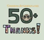 50 Watchers! by Gammea