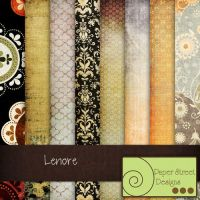 Lenore-paper street designs by paperstreetdesigns