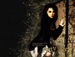 Amy Lee Wallpaper by ConnieChan