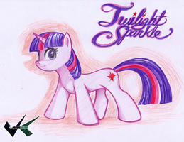 Artwork : Twilight Sparkle by jadenkaiba