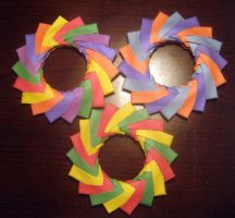 Origami Mette Rings by musicmixer112