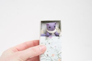 Lavender cat - Crocus by freedragonfly