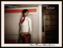 RE Degeneration Claire Redfield by IamRinoaHeartilly