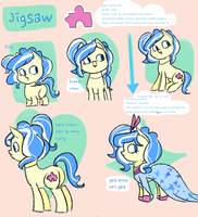 Jigsaw Ref Sheet [MLP] by musemente