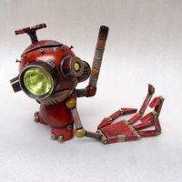 Tinker the Junkyard Munny 1 by TheYoshinator