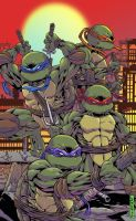 Teenage Mutant Ninja Turtles by MikeLancette