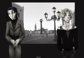 Vampires like Venice. by Fedini