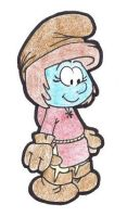 Smurf Life - My Character - Muriel by Rose-Hunter