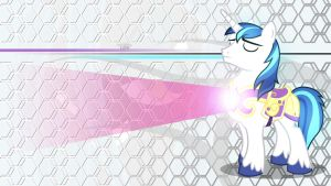 Shining Armor Wallpaper by AlpheusRGB