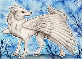 ACEO trade: IceMoony by MiaErrianIrielynn