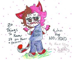 So you know someone with ADD:ADHD by Kittychan2005