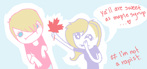 CANADIANS by onethousandtrees