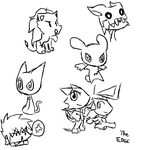 Really sketchy doodles by The-Edge-Of-Reality
