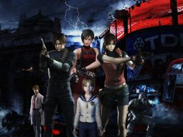 Resident evil wallpaper 8 by ethaclane