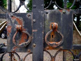 gate handles by awjay