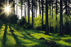 Forest Study by Brainmatters