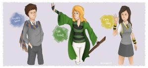 iCarly Crossover- Potter Style by TheChicEffect