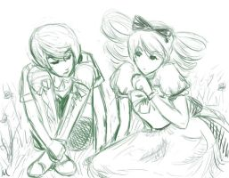 Alois And Lizzie by whitewestie13