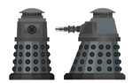 Special Weapons Dalek - revived series by dave-llamaman