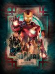 Iron Man 3 poster by turk1672