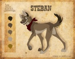 Steban - Character Sheet by Skailla