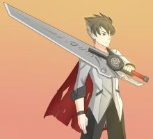 Sunset Qrow (Patreon Commission) by JonFawkes
