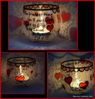 Heart Tealight by Bonniemarie