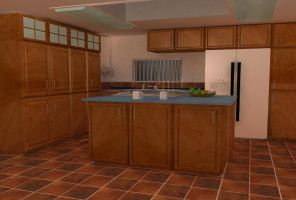 Kitchen Scene by Broadshore