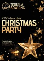 Flyer for Christmas Party by vygo
