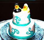 Duck and Bride by geminiswede