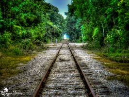 Railway To The Unknown by Vesperity