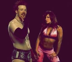 Sheamus and Mickie Graphic 2 by verusImmortalis