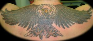 Eagle Back Piece, Complete by n1cKYveysey