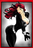Black Widow by portfan