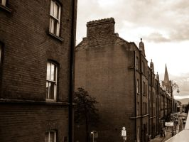 Dublin townhouses - Innercity Ireland by elDenim