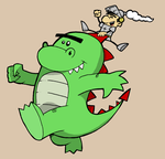 George vs Dragon by Jayextee