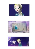 Elsa in Ever After High 5 by Lady--knight