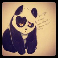 Kyle the panda by Maroonz80
